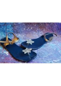Сандали Zhoelala Star Темно-синие