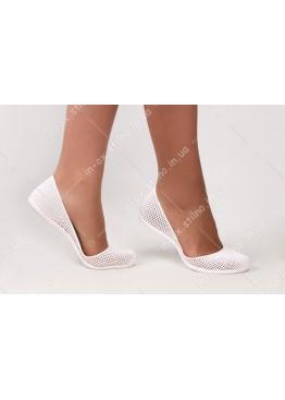 Силиконовые балетки белые IN-OX